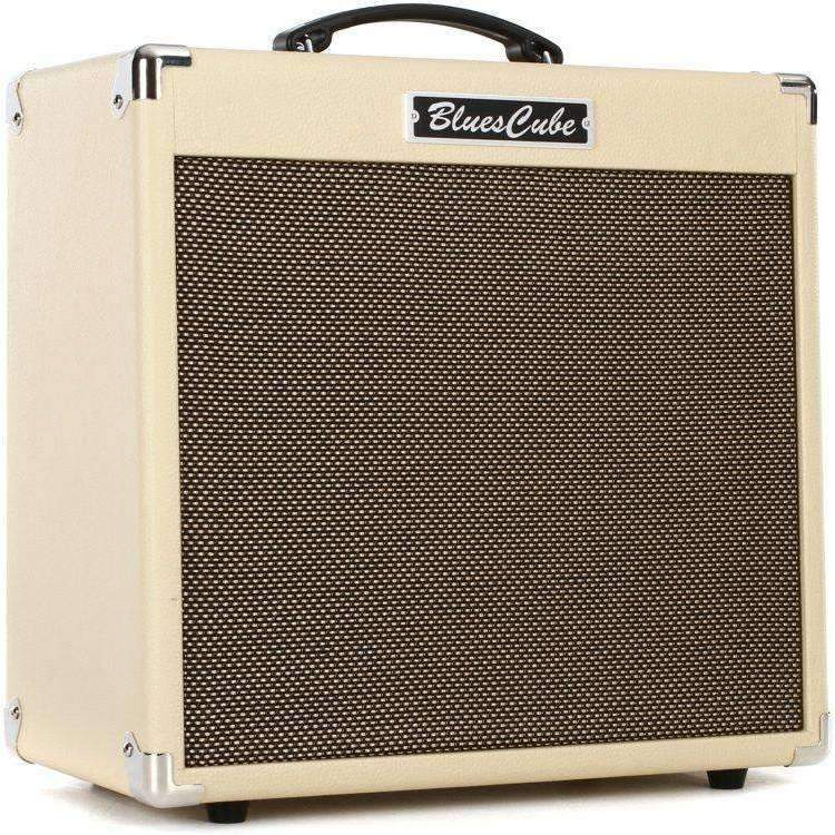 "Roland Roland Blues Cube Hot 30-watt 1x12"" Combo Amp - Vintage Blonde - Industrie Music"