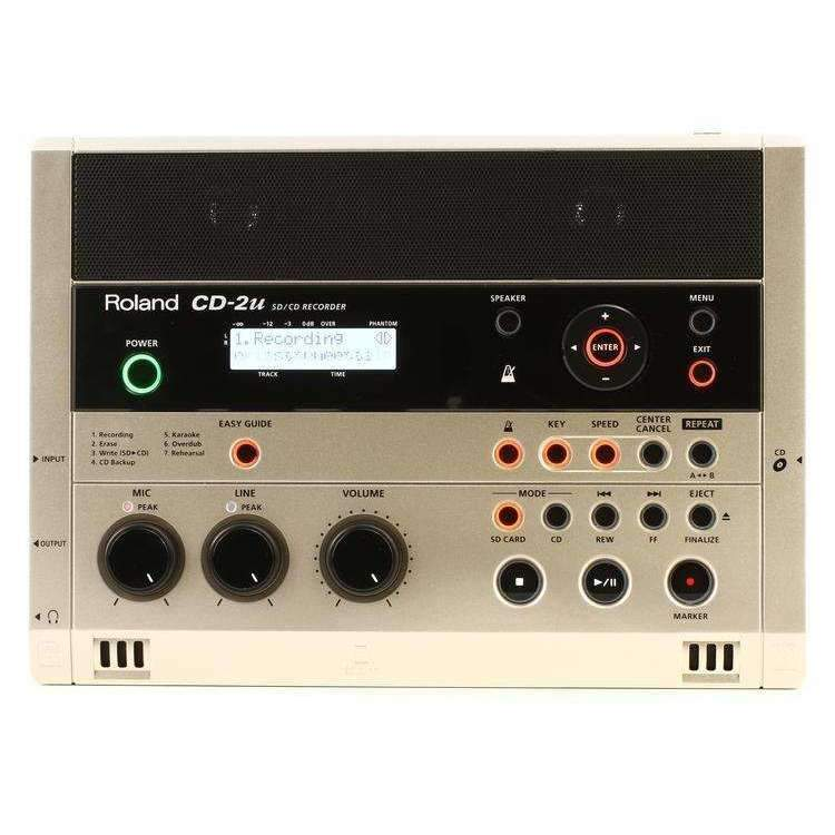 Roland CD-2U Portable Recorders Roland