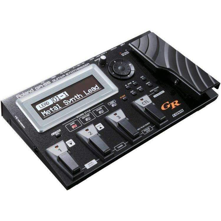Roland GR-55 Guitar Synth with GK-3 Pickup Multi-effects Pedals Roland