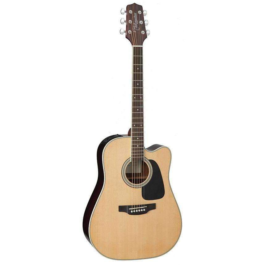 Takamine Takamine D3 Series Dreadnought AC/EL Guitar Cutaway Natural TED3DCNAT - Industrie Music