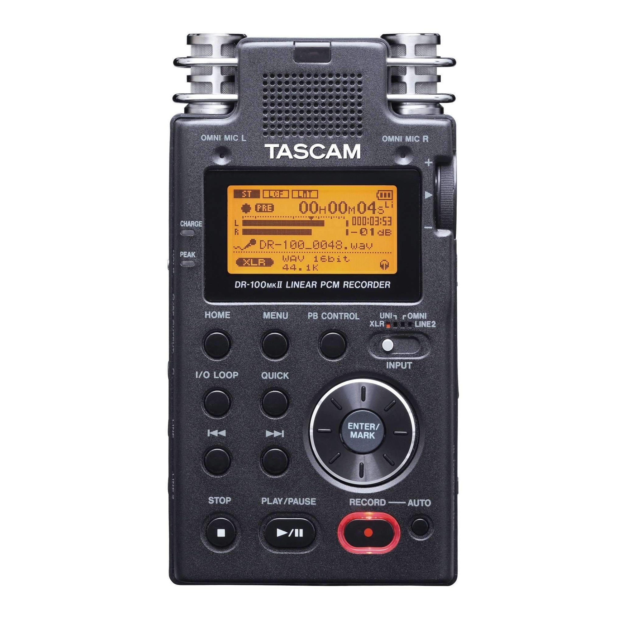 Industrie Music,Tascam DR-100MK2 Portable Digital Recorder