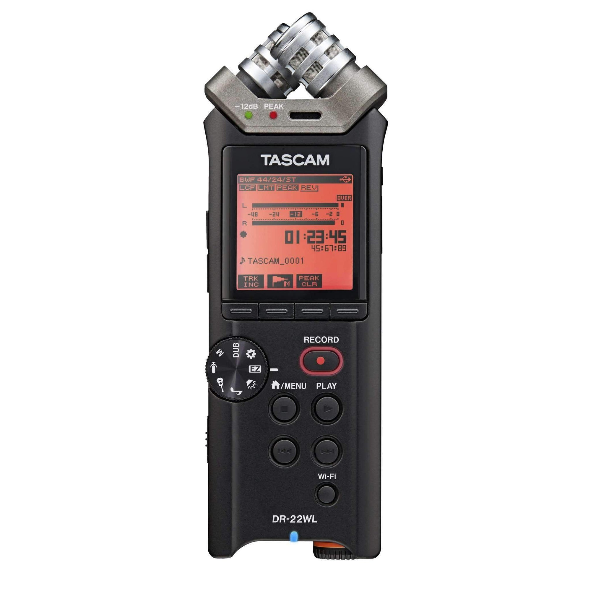 Industrie Music,Tascam DR-22WL Portable Digital Recorder