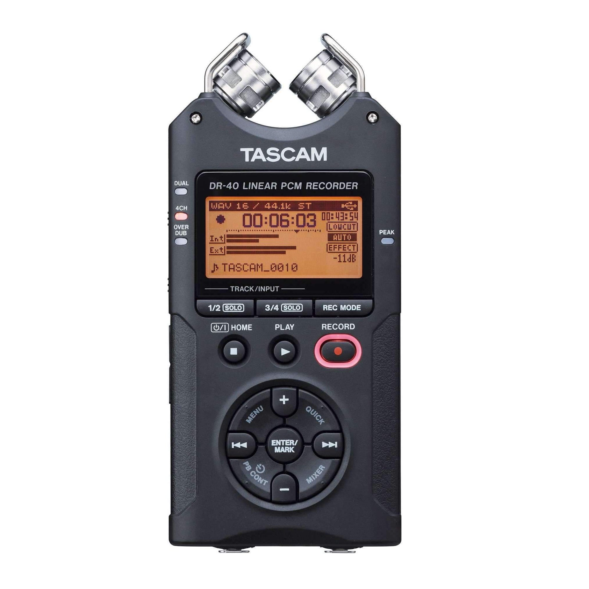Industrie Music,Tascam DR-40 Portable Digital Recorder
