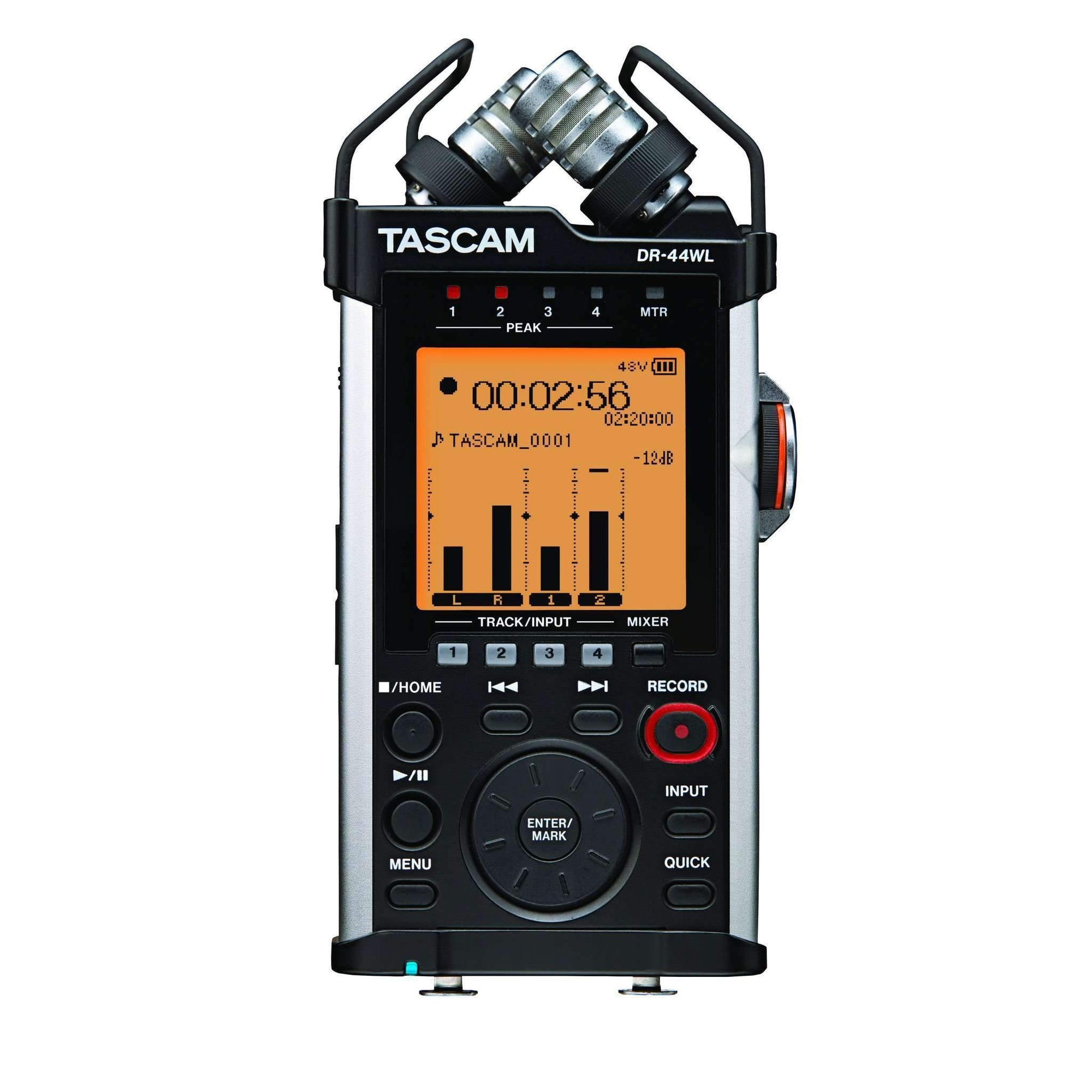 Industrie Music,Tascam DR-44WL Portable Digital Recorder