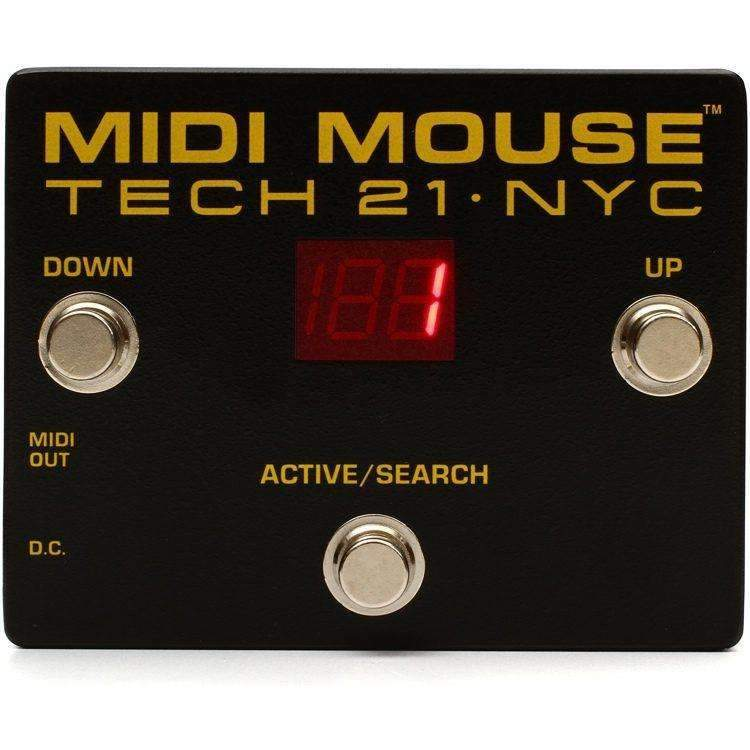 Industrie Music,Tech 21 MIDI Mouse
