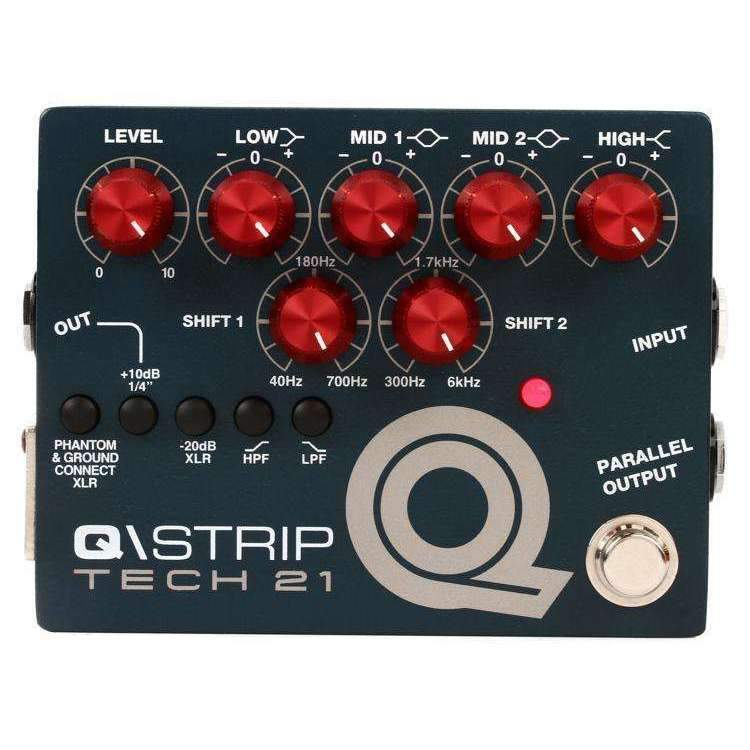 Tech 21 Tech 21 Q-Strip EQ and Preamp Pedal - Industrie Music