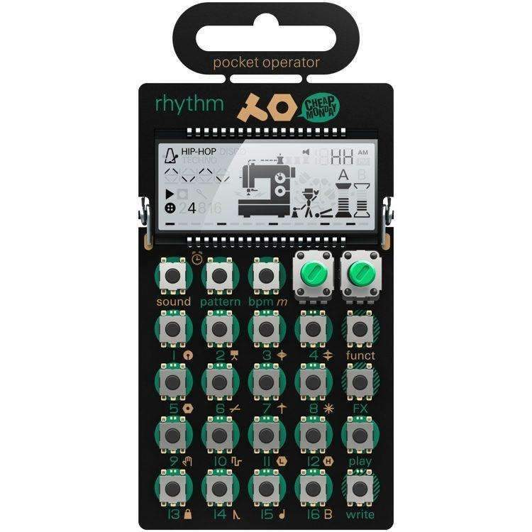 Industrie Music,Teenage Engineering Pocket Operator PO-12 Rhythm
