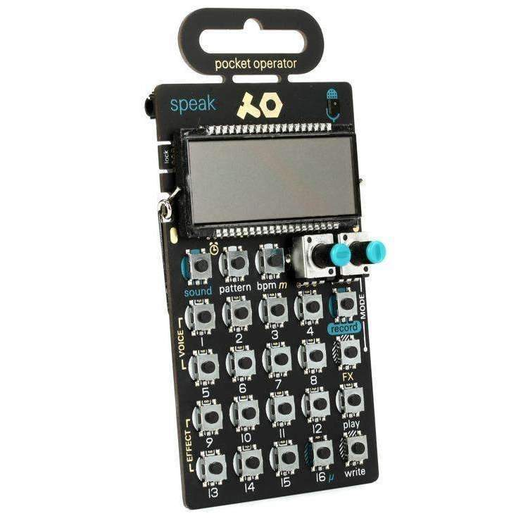 Industrie Music,Teenage Engineering Pocket Operator PO-35 Speak