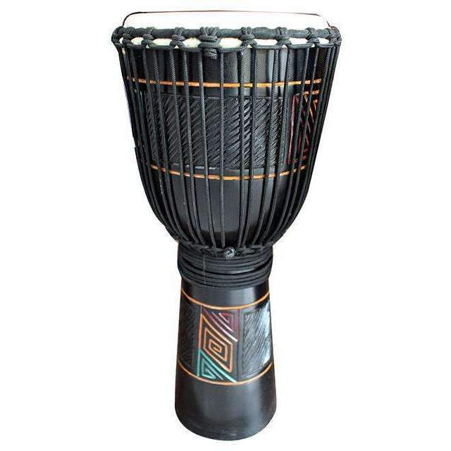 "Toca Limited Carved Series Wooden Djembe 12"" in Maze Pattern Djembes Toca"