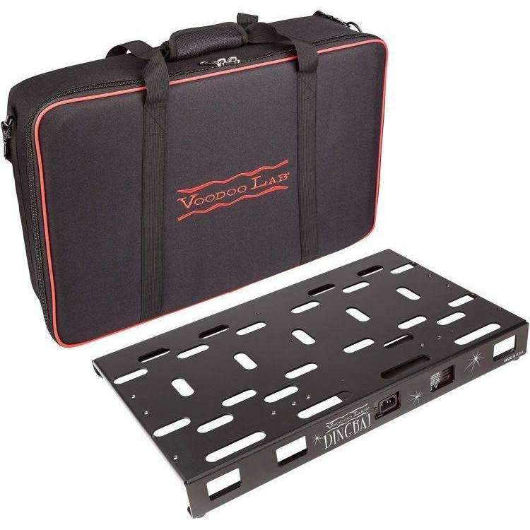 Industrie Music,Voodoo Lab Dingbat Pedalboard Power Package - Medium with Pedal Power 4x4