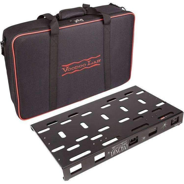 Industrie Music,Voodoo Lab Dingbat Pedalboard Power Package - Medium with Pedal Power MONDO