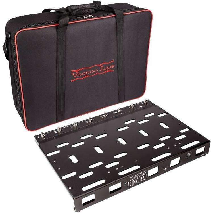 Industrie Music,Voodoo Lab Dingbat Pedalboard PX Package - PX-8 Plus Switcher and Gig Bag