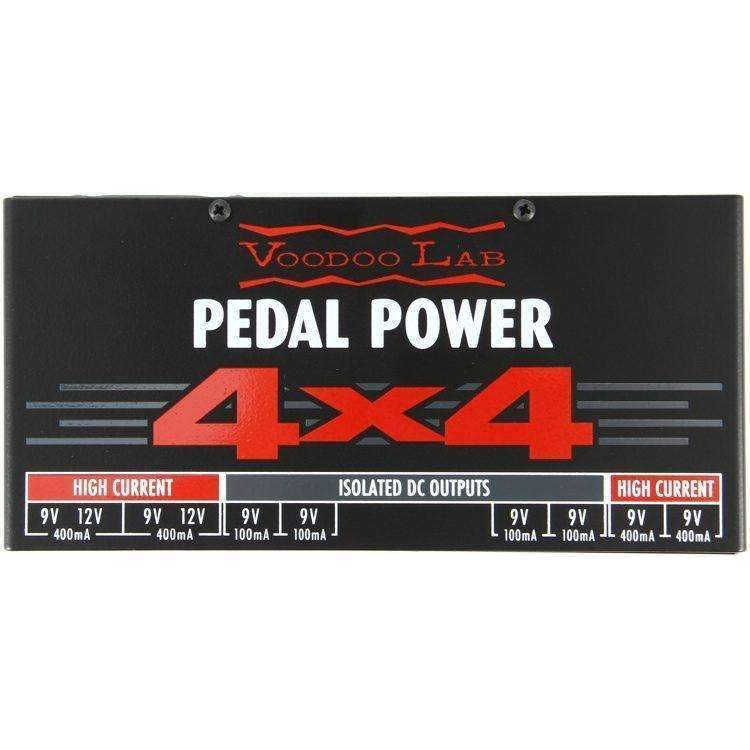 Voodoo Lab Pedal Power 4x4 Isolated Power Supply Power Supplies Voodoo Lab