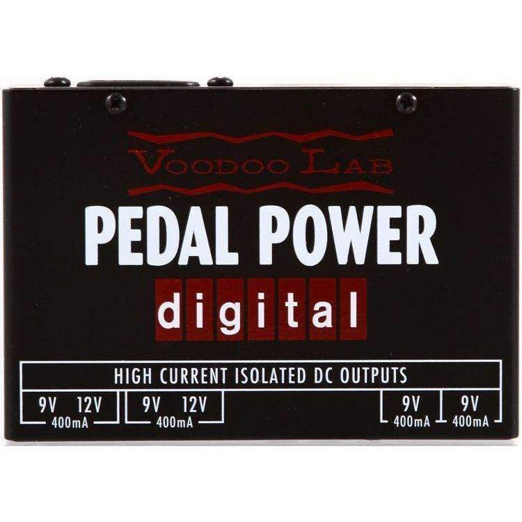 Voodoo Lab Pedal Power Digital Isolated Power Supply Power Supplies Voodoo Lab