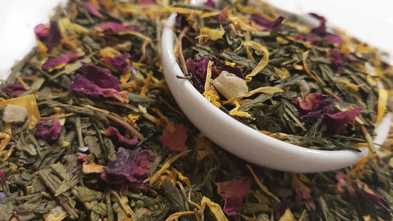 Sencha Sweet Selections Tea, Scent Of Asia Tea Life