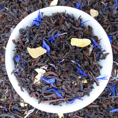 Baby Blue Earl Grey Tea, Tasty Tea Tea Life