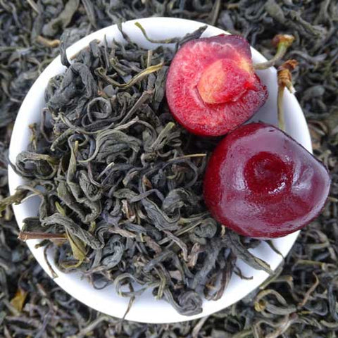 Cherry Green Tea, Tasty Tea Tea Life