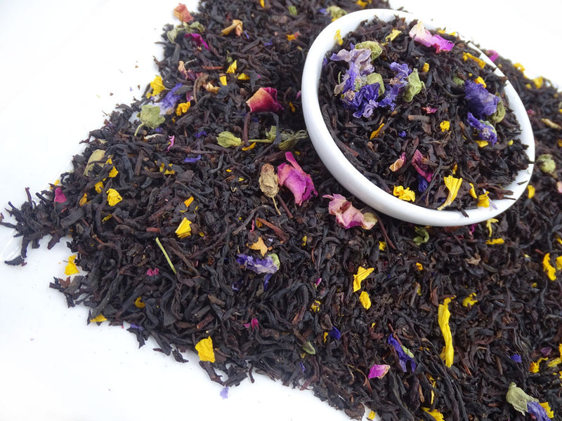 Earl Grey French, Exotic Blends Tea Life