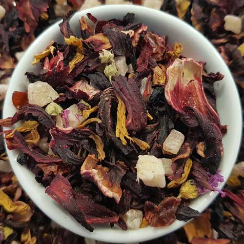 Hibiscus Wonderland Fruit Tea, Exotic Blends Tea Life