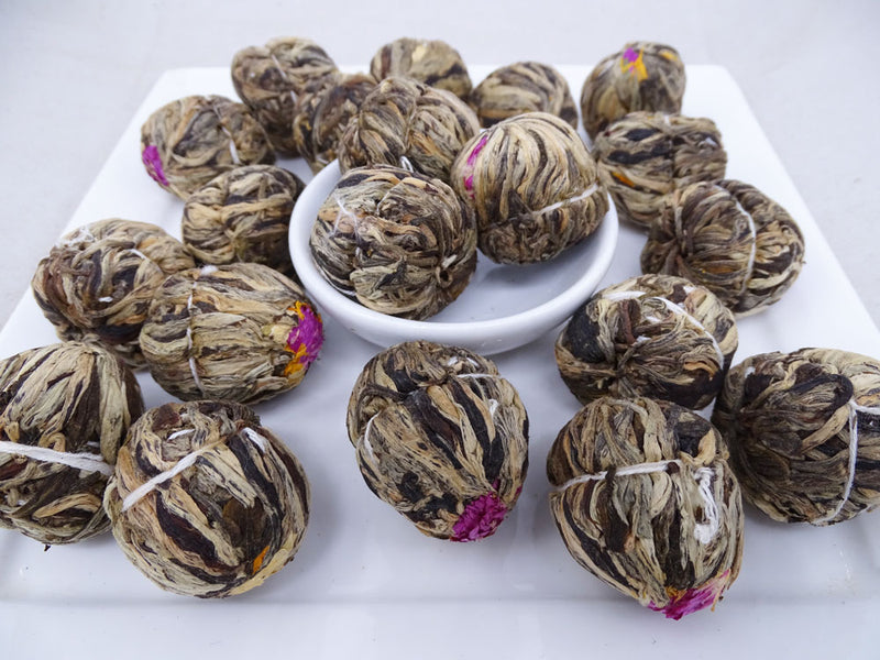 Lychee Paradise Infused Blooming Flower Tea, Scent Of Asia Tea Life