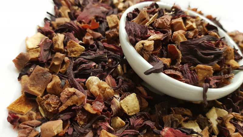 Orange Summer Fruit Tea, Exotic Blends Tea Life