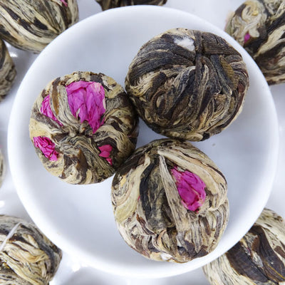 Peach Pleasures Infused Blooming Flower Tea, Scent Of Asia Tea Life