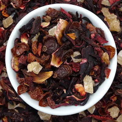 Pina Colada Fruit Tea, Exotic Blends Tea Life