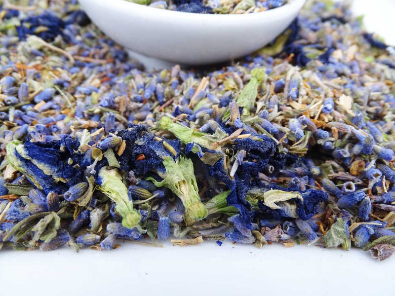 Relaxing Lavender Blue Tea, Health Blend Tea Tea Life
