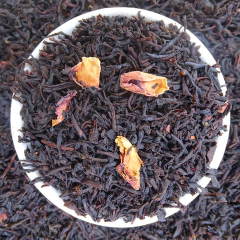 Rose Black Tea, Exotic Blends Tea Life