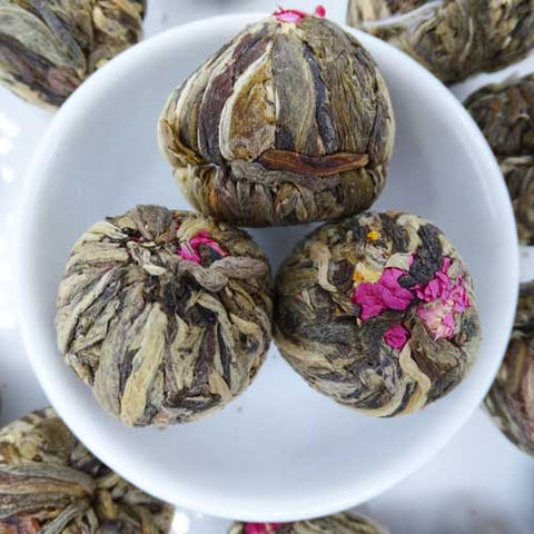 Triple Surprise Blooming Flower Tea, Scent Of Asia Tea Life