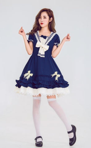 #1316 Lolita Sailor Costume