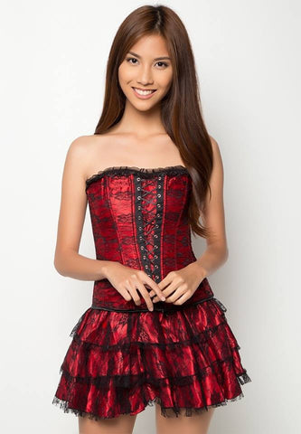 #2162 Corset with Skirt