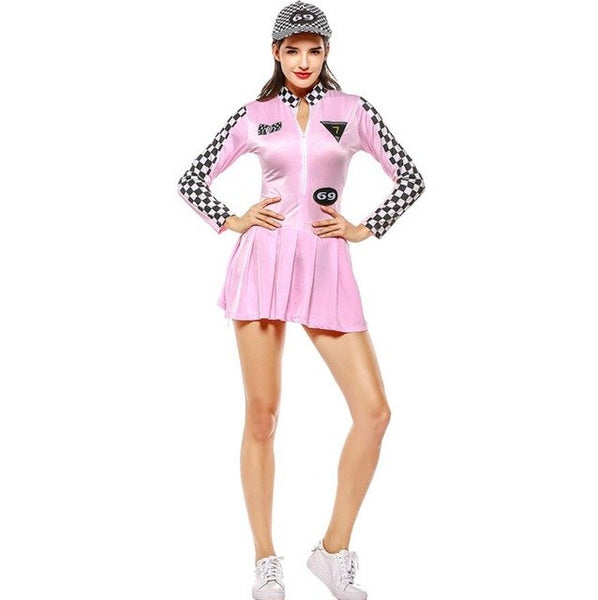 #8378 Racer Girl Costume