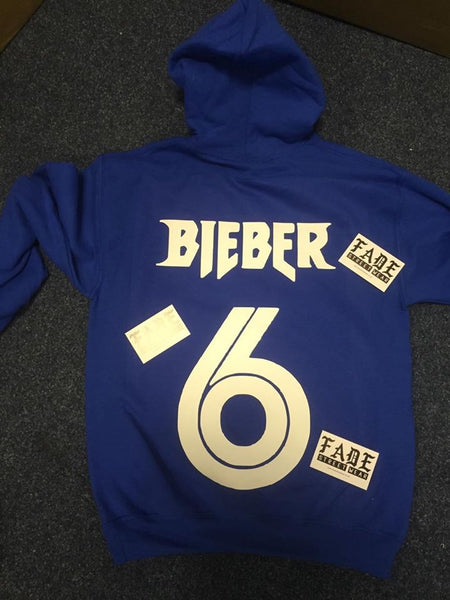 Purpose Tour Royal Blue Hoodie- Toronto CANADA. BIEBER 6