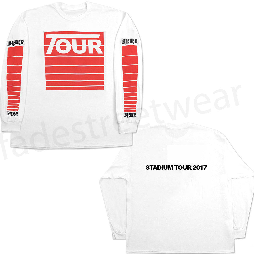 STADIUM Tour Moto - White long sleeve t-shirt