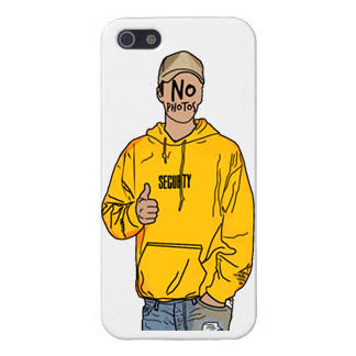 @NoXPressure designs - No Photos Justin Outline Phone Case