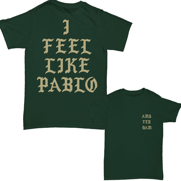 I Feel Like Pablo - Amsterdam TLOP Green Short Sleeve t-shirt