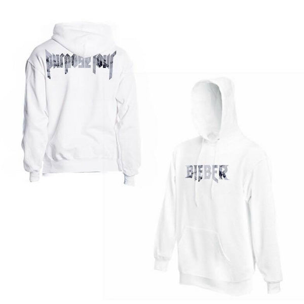ATLBIEBUR designs Purpose Tour Marble White Hoodie
