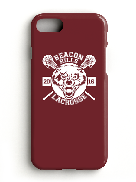 Beacon Hills Lacrosse 2016 Maroon Phone Case