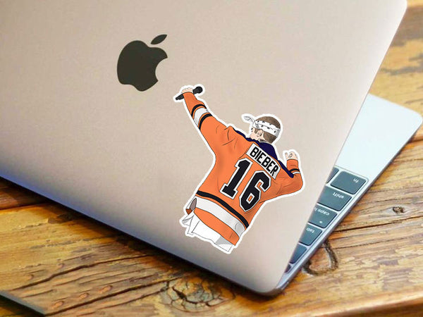 Bieber Hockey Shirt Sticker
