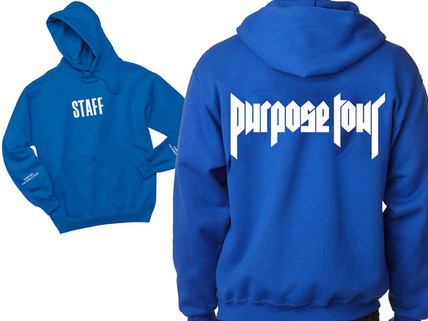 STAFF Purpose The World Tour - Royal BlueHoodie