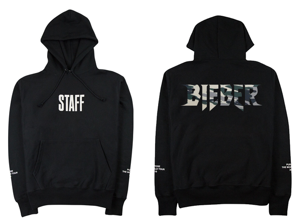 STAFF Purpose Tour Camo - Black Hoodie