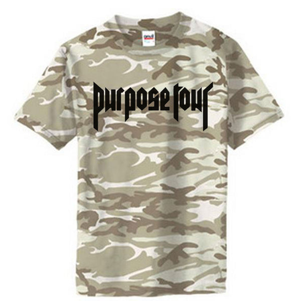 Purpose Tour Camouflage Camo Short Sleeve t-shirt