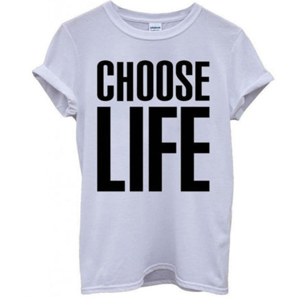CHOOSE LIFE Wham! White T-Shirt