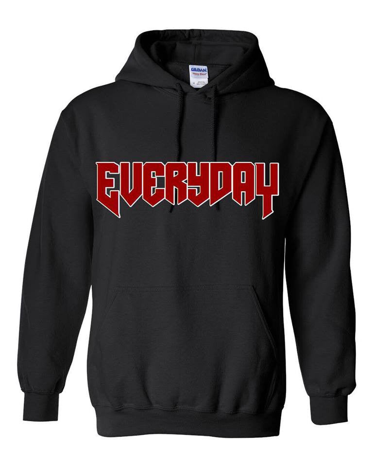@arianatorarmey design EVERYDAY - Black Hoodie