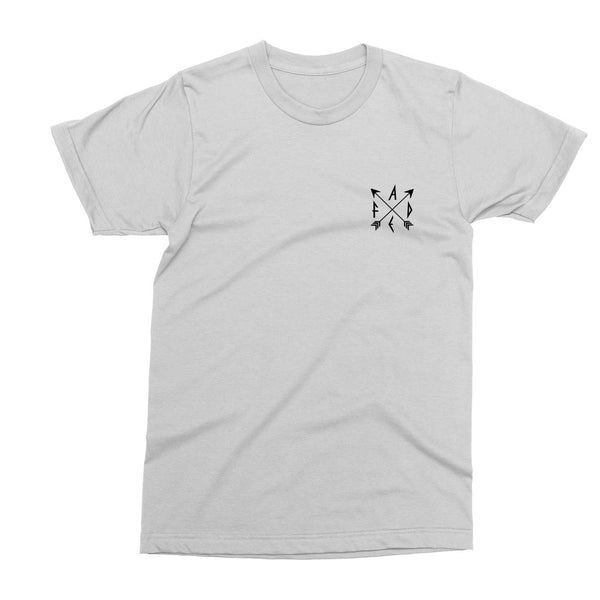 FADE Arrows Design white T-Shirt