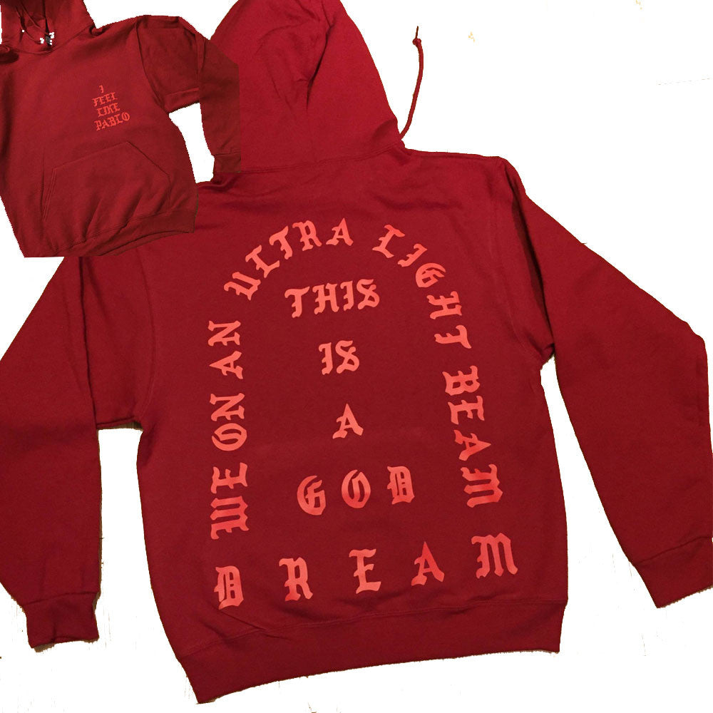 Ultralight Beam TLOP Red Hoodie