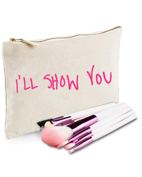 I'll Show You - Natural Make Up/Cosmetic Bag.
