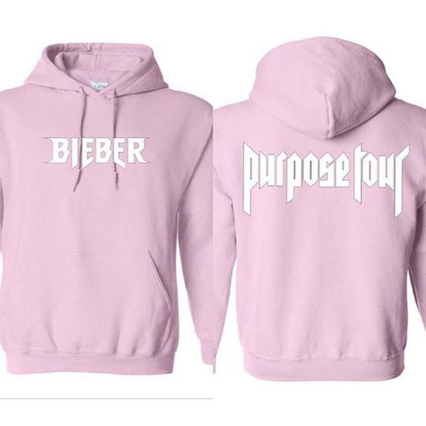 1.3.12.56 designs Purpose Tour baby pink Hoodie