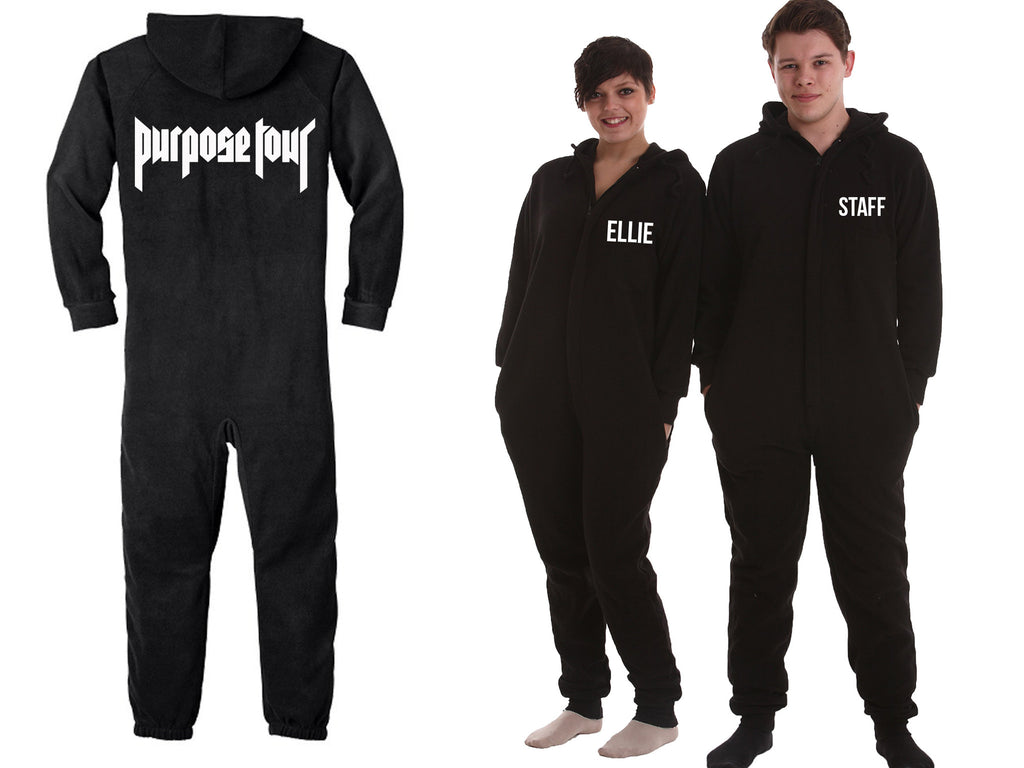 Personalised Purpose Tour Onesie - All in one, lounge wear!